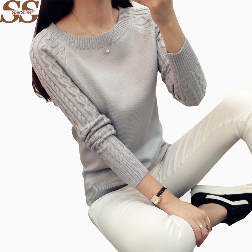 Christmas Sweater Women Sweaters Pullover Pull Femme Cashmere Jumper Knitted Sweater Pullover Women Winter Fall 2017 Fashion