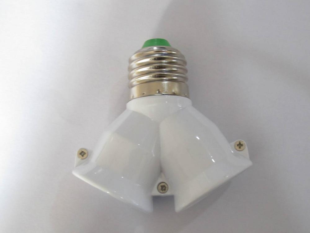 Διαχωριστής για ντουί ε27 με διπλή υποδοχή λαμπτήρων τύπου led-cfl msow