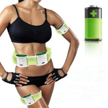 Rechareable  slimming product belt Vibration massager to consume fat.Abdominal massage.waist massage