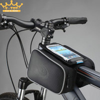 Cycling Bicycle Bike Top Tube Frame Double Bag L Size Suitble For 4 7 5 5