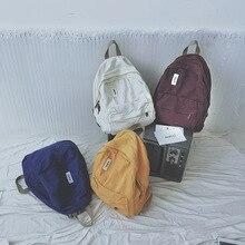 المرأة على ظهره بلون مدرسة حقائب للمراهقين الفتيات حقائب أنيقة حقائب الطالب الجامعي الكلاسيكية Mochila