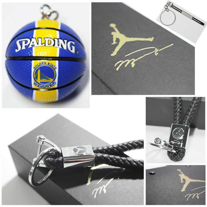 163e3de10f ... Howplay Basketball model keychain pendant car bag basketball fan  boyfriend creative birthday gift for air jordan