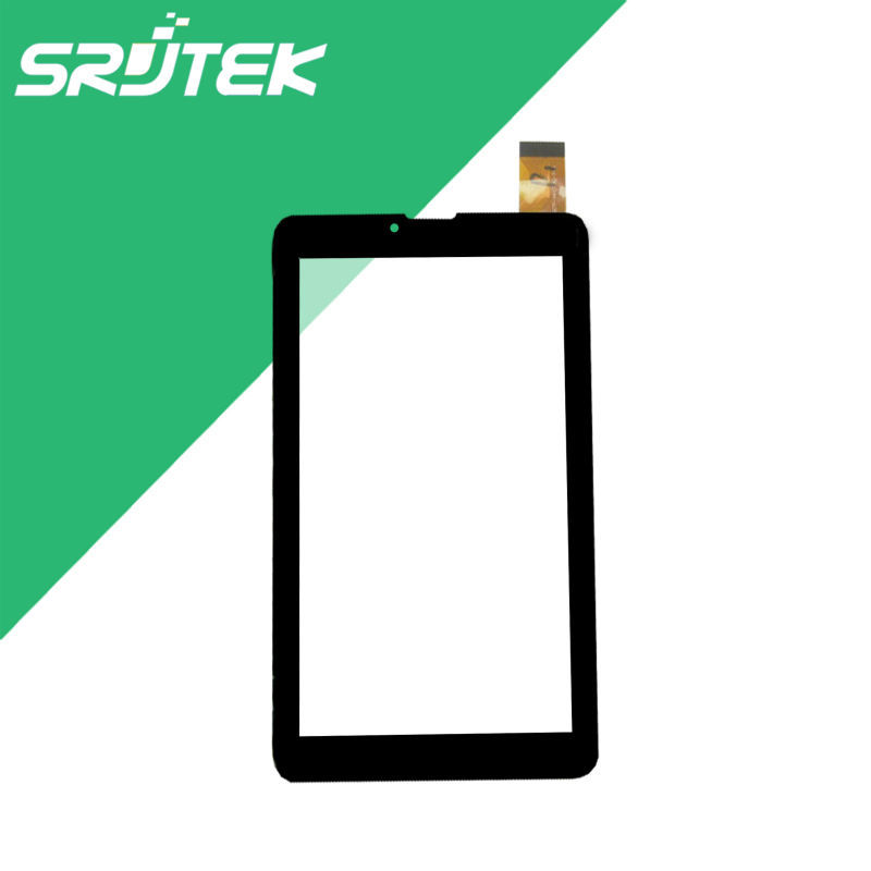 Black 7 Inch for Prestigio MultiPad Wize 3037 3G Tablet Touch Screen Panel Digitizer Glass Sensor Tablet PC Replacement Parts 10pcs lot new touch screen digitizer for 7 prestigio multipad wize 3027 pmt3027 tablet touch panel glass sensor replacement