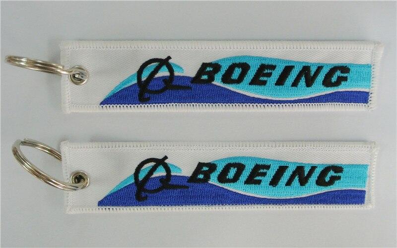 Boeing bothside Вышивка мешок тег