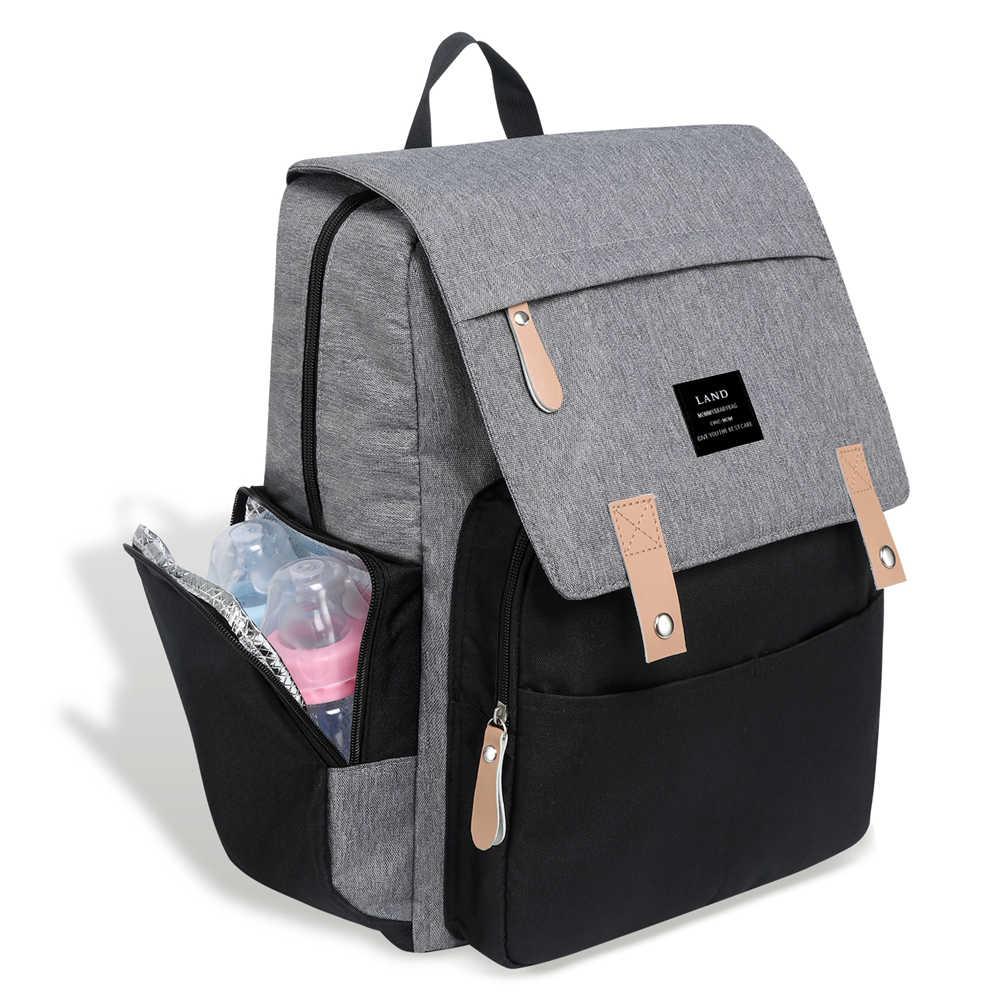 2019 Baby Bags For Mom Diaper Bag Backpack Maternity Stroller Twins Organizer Large Capacity Waterproof Travel Handbags