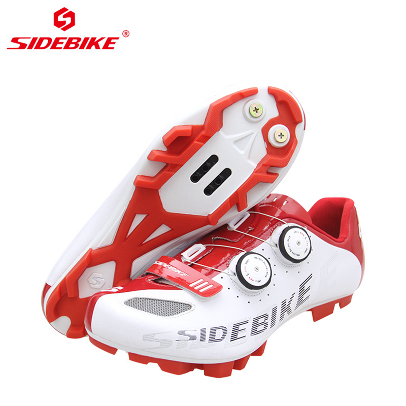SIDEBIKE Breathable Mountain Bike Shoes Men Self lock MTB Bicycle Cycling Road Shoes Anti slip Wear resisting Cycle Sneakers in Cycling Shoes from Sports Entertainment