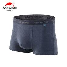 Продвижение NatureHike-дышащее антибактериальное мужское Спортивное быстросохнущее нижнее белье боксеры шорты