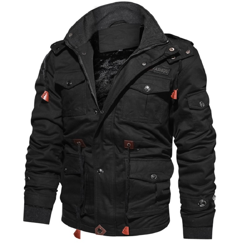 Autumn and winter new men s jacket casual slim jacket solid color retro denim jacket Stand