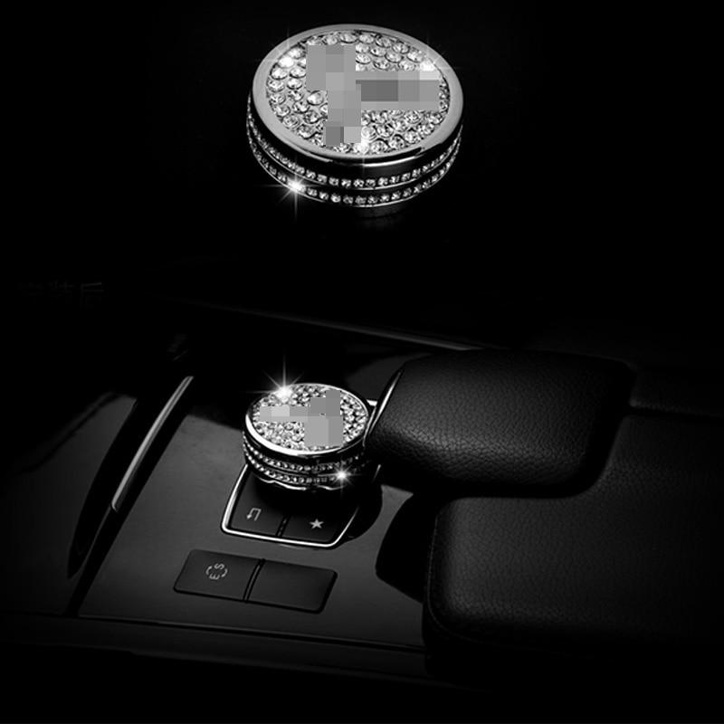 Diamond Style Multimedia Switch Trim Cover For Mercedes-Benz GLA Class 14-16 & CLA Class 14-17 & A Class 13-17 & B Class 12-15 Mercedes-Benz CLA-класс