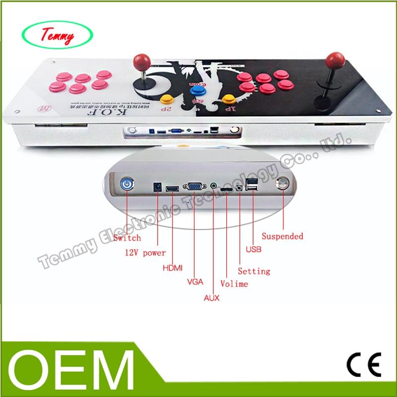 Pandora's Box 4 KOF version arcade board machine 680 games Double game console joystick game controller, support VGA HDMI output