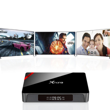 X96 Pro xnano Android 6.0 TV Box 1 г 8 г 2 г 16 г Amlogic S905X Quad Core BT 4.0 WIFI HDMI 2.0A 4 К Коди Зефир media PK A95X