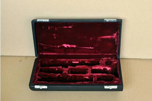 New Clarinet Case, Real Wood Material Leather Box