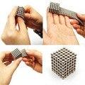 216 unids 3mm bloque de imán de neodimio bolas magnéticas magia de juguete diy rompecabezas cubo neo cubo vacío paquete