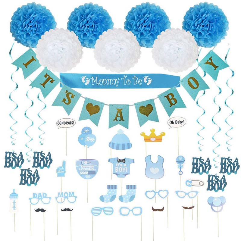It's A Boy Blue Theme Welocom Kit For Babies Welcome Baby