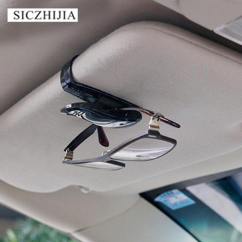 Storage Organizer Hanging Clip Creative Car Sun Visor Card Holder Glasses New LS