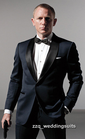 2017 new wedding tuxedo james bond wedding suits for men formal 2017 new wedding tuxedo james bond wedding suits for men formal suit groom tuxedos tailcoat best men suits groomsme in suits from mens clothing junglespirit Gallery