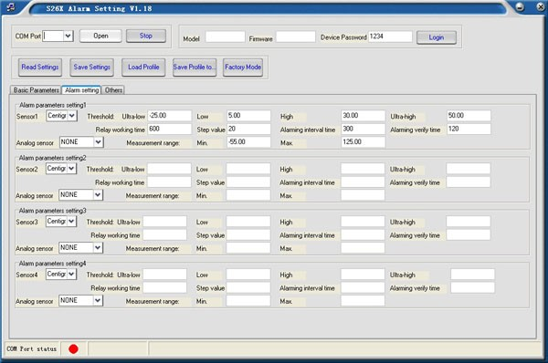 2.S262 GPRS GPS temperature logger setting