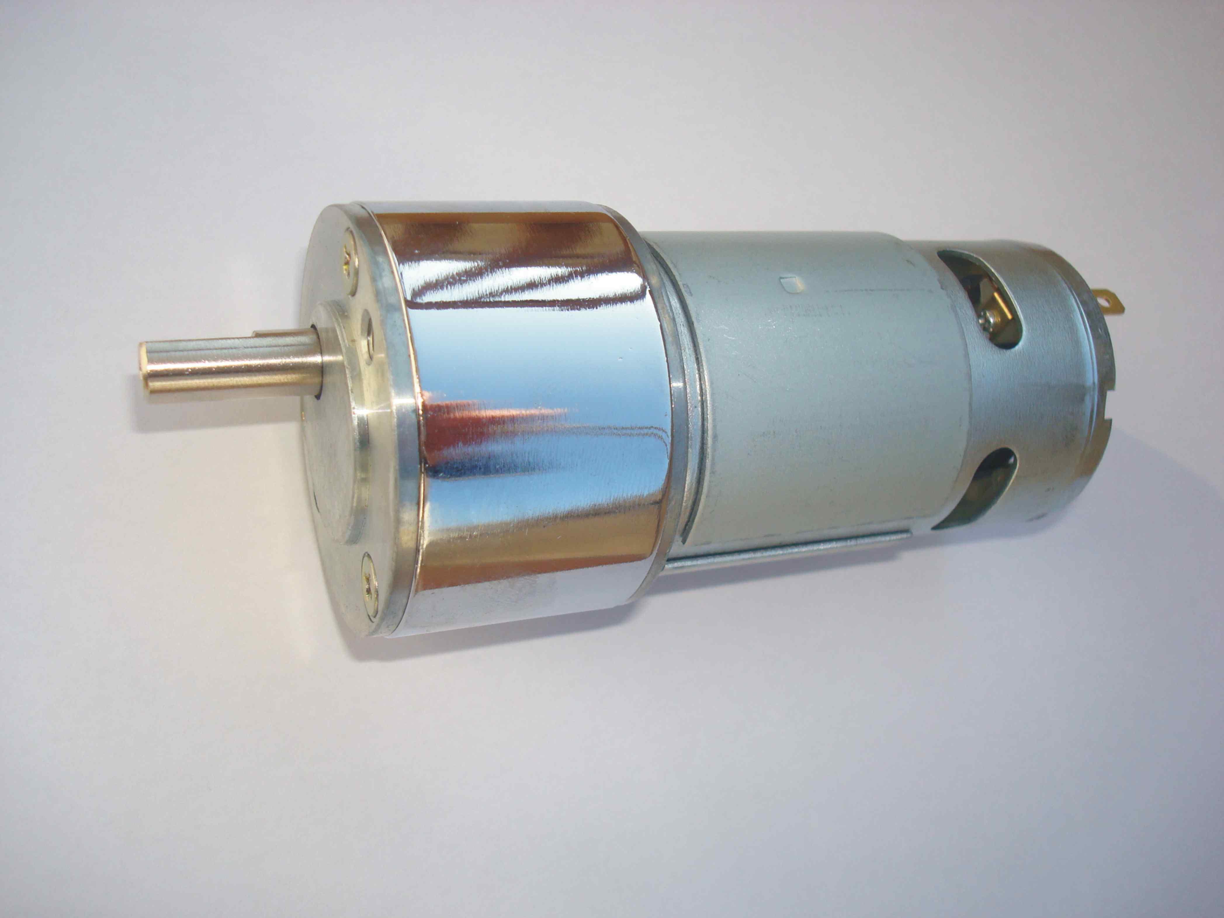Hot-vente gb50-775 décélération dc moteur plein engrenage en métal super