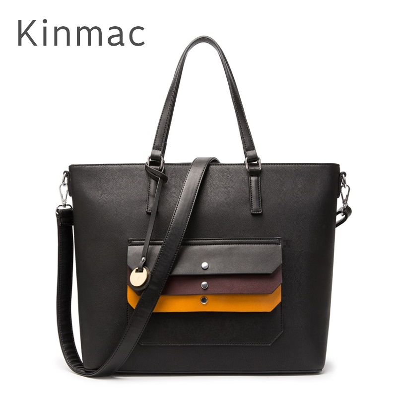 2018 New Brand Kinmac PU Leather Handbag Messenger Bag For Laptop 13 inch, Case For MacBook Air,Pro 13.3, Free Drop Shipping