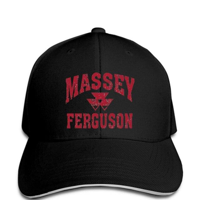 Men Baseball cap Massey Ferguson Gray Weathered Logo snapback Bottoming  women a4776d641ec