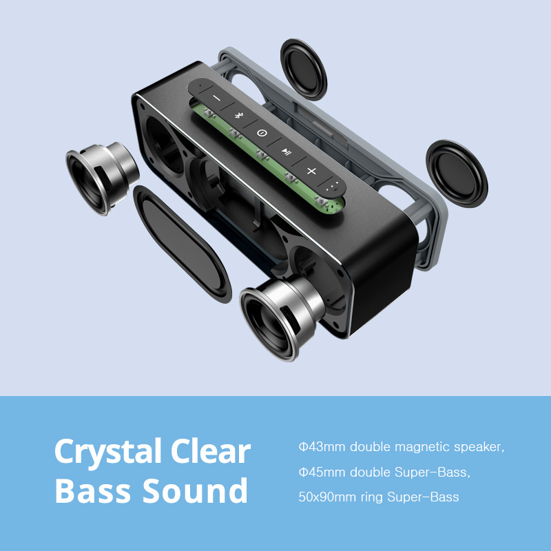MIFA A20 Bluetooth სპიკერი ლითონის - პორტატული აუდიო და ვიდეო - ფოტო 3