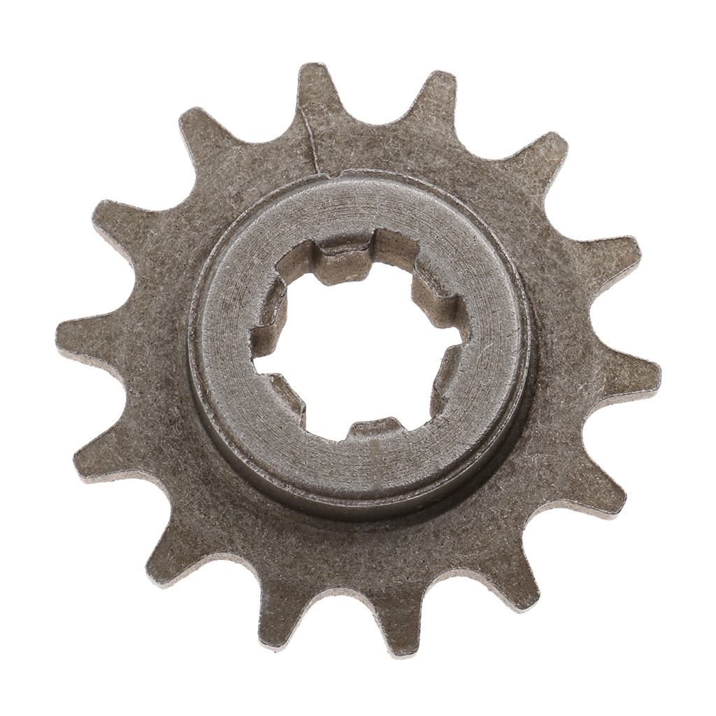 49cc Motorcycle T8F 8mm 14 Tooth Front Pinion Sprocket Chain Cog Motorcycle Mini Pocket Dirt Bike Drives & Gear Accessories