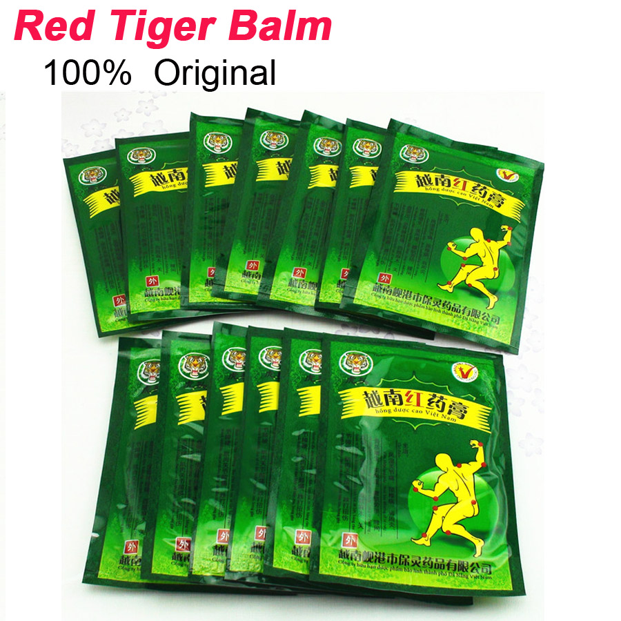 104 Pcs Vietnam White Tiger Balm Patch Cream Body Neck Massager Meridians Stress Pain Relief Arthritis Capsicum Plaster C161 4