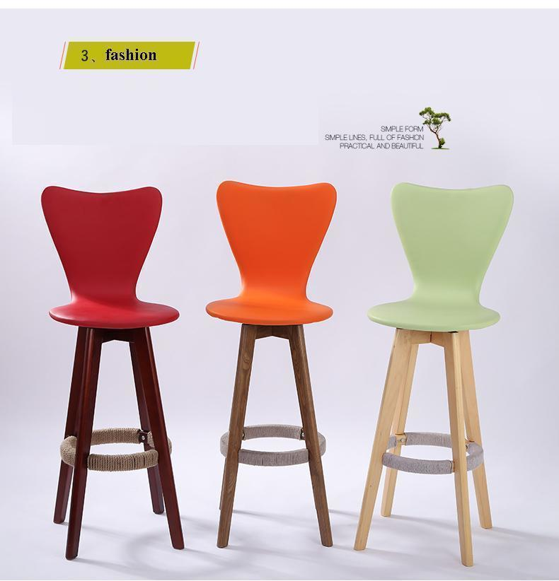 household coffee wine stool rotation green orange red color seat dining room chair restaurant furniture hotel hall free shipping fishing chair picnic stool hotel hall red yellow blue green color pe materail pattan seat free shipping