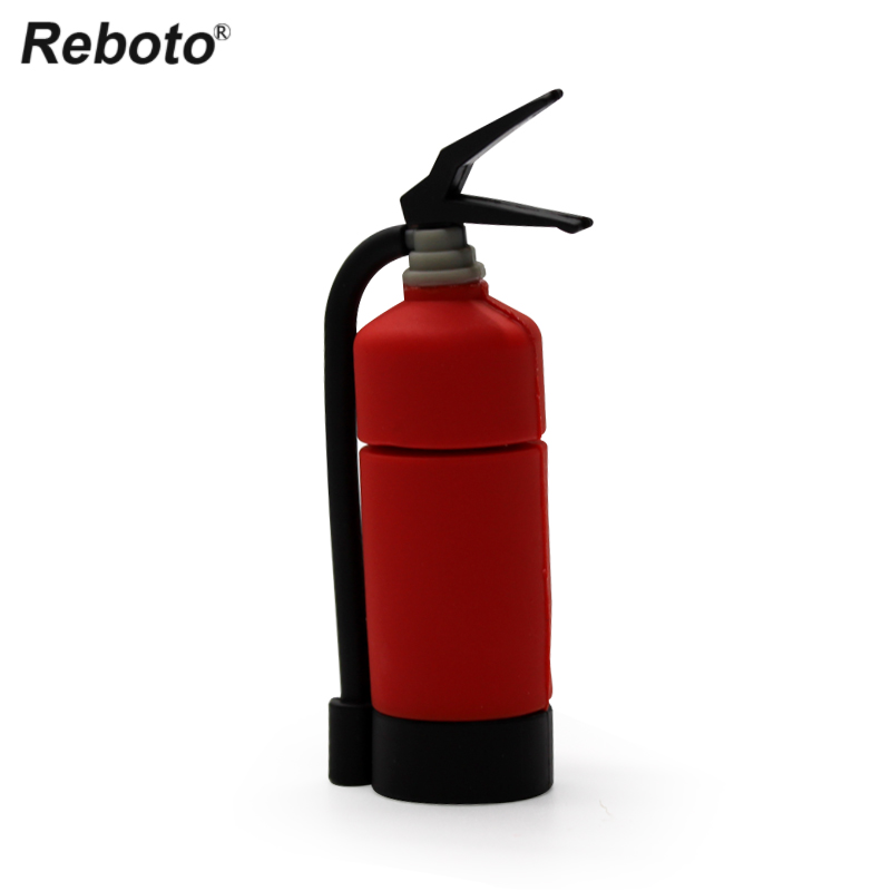 new fire extinguisher pen drive firemen usb flash disk cool memory stick cartoon u disk pendrive 8GB 16GB 32GB free shipping