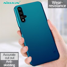Huawei Honor 20 Case NILLKIN Super Frosted Shield PC Plastic Hard Phone Cases For Huawei Honor 20 Fundas Back Covers With Gift цена и фото