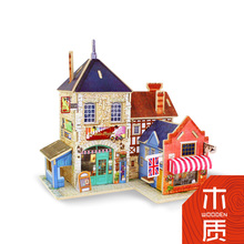 Puzzle Wooden Toys For Boys Children Kids Games Girls 3d Puzzle Dollhouse Toys Table Desk Doll House Wooden Indoor Creative Diy