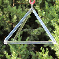 Crystal Singing Pyramid Tetrahedron For Sound Healing In 7
