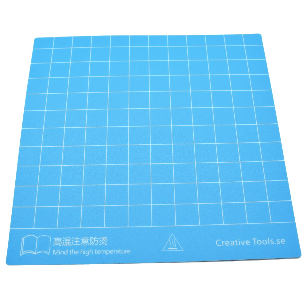 Build Surface With 3M Sticker For CR 10 CR 10S 3D Printer Heated Bed Sheet  With 300x300mm