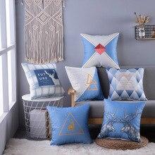 цена Home Decorative Sofa Throw Pillows Small fresh sofa pillow bamboo knot cushion cover Cushion Cover Pillow Cover Pillow Case онлайн в 2017 году
