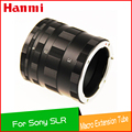 Nova alta qualidade de metal tubo de extensão macro para dslr camera sony alpha af minolta ma a380 a330 350 adaptador de lente