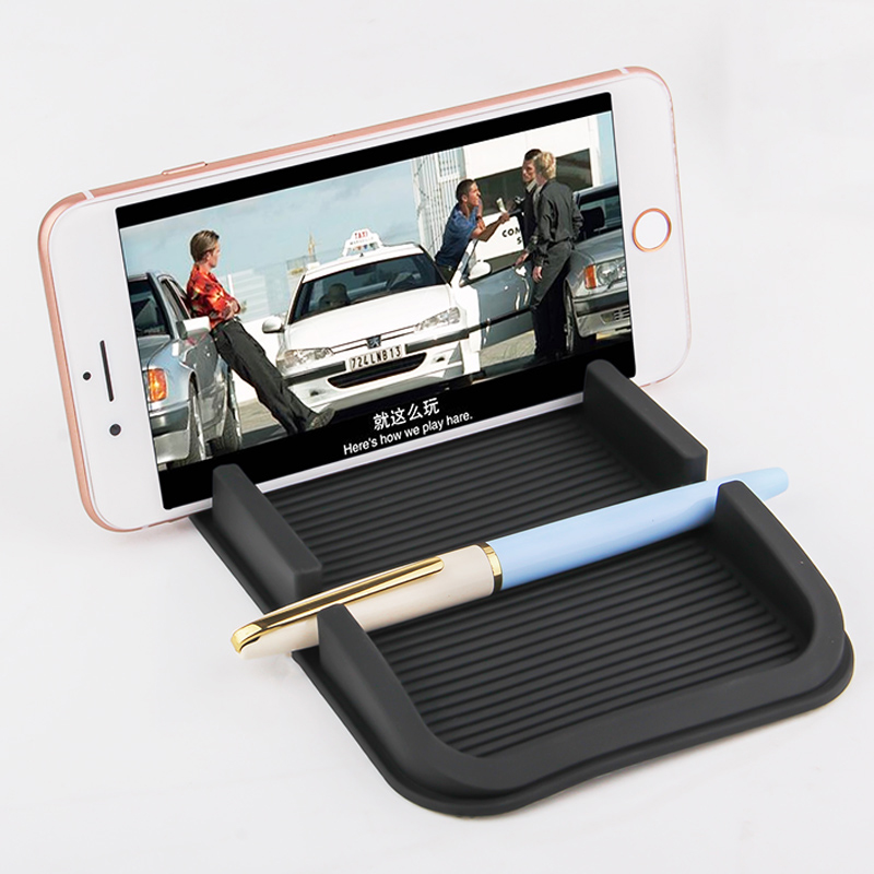Oppselve Temporary Car Parking Card ABS Telephone Number Card Notification Night Light Car Styling Phone Number Card Holder Pad in Phone Holders Stands from Cellphones Telecommunications