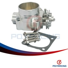 PQY STORE- NEW THROTTLE BODY FOR MITSUBISHI LANCER EVO 1 2 3 4G63 TURBO S90 THROTTLE BODY 70MM 1992-1995 PQY6940