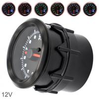 52MM 2 Inch Dual Display 12V 0~10000RPM Universal Car Tachometer 7 Color Backlight Auto Tachometer