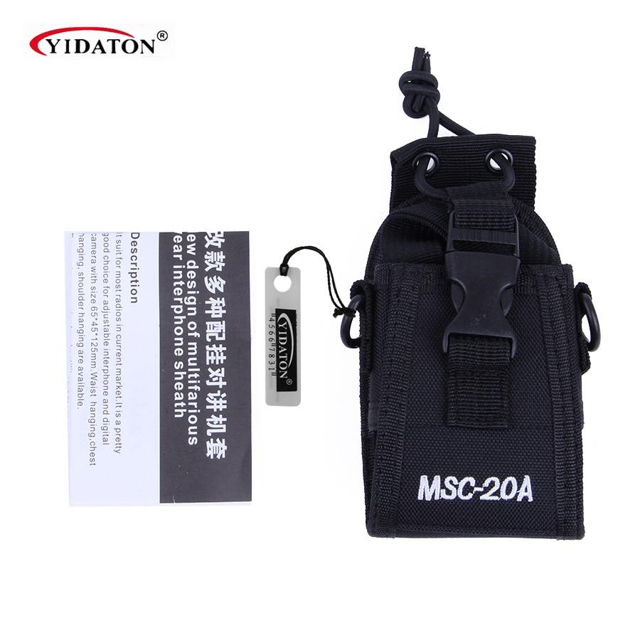 Դյուրակիր ռադիոկայանի կրող Holster քսակ պատյան Motorola Kenwood Baofeng UV-5R UV-82 UV8D UV6 համար Midland Yaesu MSC-20A- ի համար