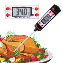 Mini Digital Cooking Thermometer Sensor Probe BBQ Hot Dirnk For Kitchen Food Tools 20% off