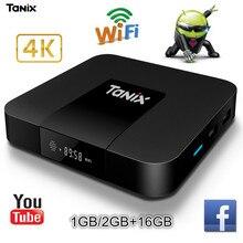 Tanix TX3 Mini TV Box Android 7.1 S905W Quad-core 2G RAM 16GB ROM TV Set Top Box WiFi Support 4K Even 3D HD Movies Media Player