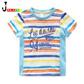 NEW Children T Shirts 100% Cotton kid's Summer Short Sleeve Kids T-shirt Baby Kids Band Top And Tees letter Print Kids Clothes