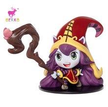UEKKO Brand hot  10CM Game anime figure PVC doll toy LOL Lulu  action Funko pop Model For Collection / Gift Original Box