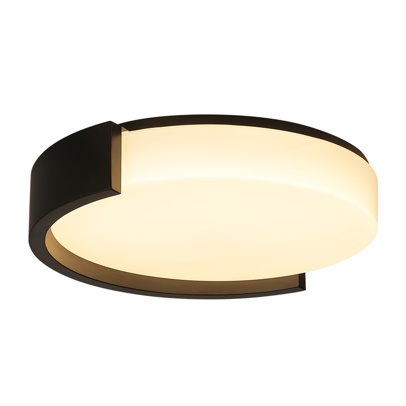 Nordic simple Makaron acrylic energy conservation LED ceiling lights for living room bedroom lighting ceiling free shipping 31