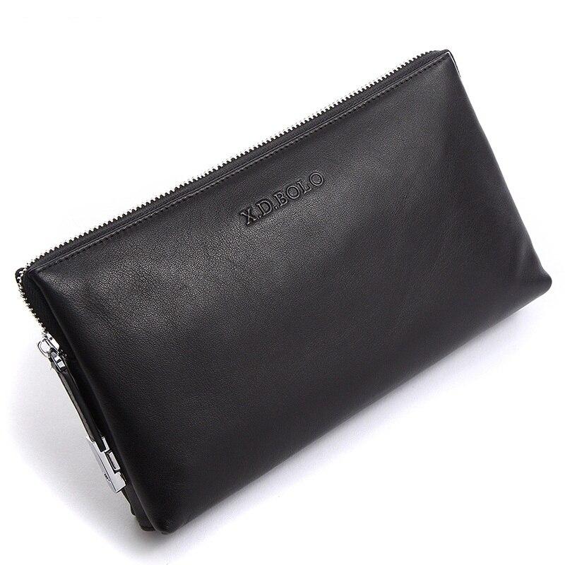 2019 nowych mężczyzna portfele ze skóry naturalnej monety portfel na zamek błyskawiczny męskie kopertówki człowiek torebka torebka posiadacz karty pieniądze torba hurtownia w Portfele od Bagaże i torby na  Grupa 1