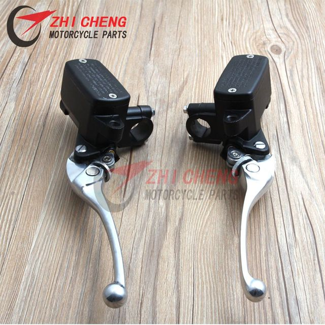 Motorcycle 7/8 22mm Hydraulic Clutch brake Master Cylinder with levers For Honda CB400 CB750 CB1000 CB1300 FJS 400 600 FJS400