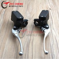 Motorcycle 7/8'' 22mm Hydraulic Clutch brake Master Cylinder with levers For Honda CB400 CB750 CB1000 CB1300 FJS 400 600 FJS400