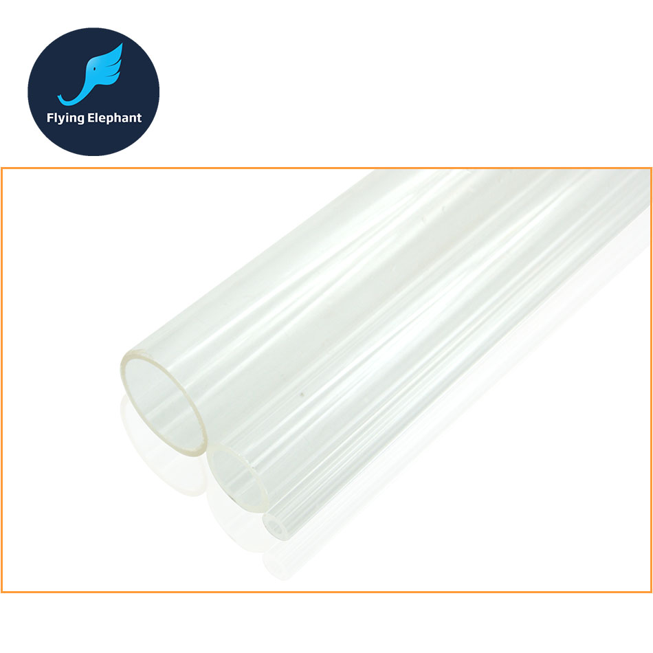(50cm/Piece) OD18 20 25 30 32 40 50mm Transparent DIY Acrylic Tube PMMA Tube for PC computer water cooling щебень фракция 20 40 мм 50 кг