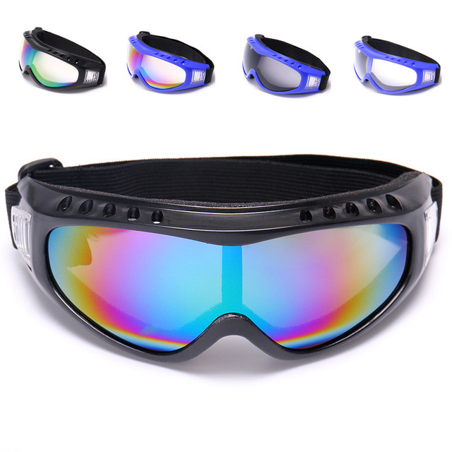 bab60251277 Winter Snow Sports Skiing Snowboard Snowmobile Anti-fog Goggles Windproof  Dustproof Glasses UV400 Skate Ski