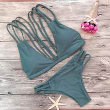919fb35808731 MUQGEW Women bra set gray green bra bikini beach multi-strap bra charming  Women s underwear + panties suit  ZKERBA